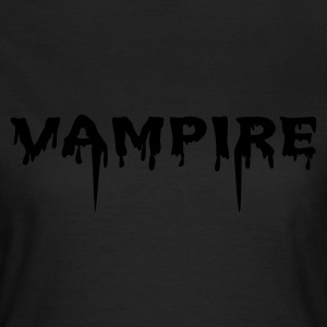 Oliven Vampire (1c) T-shirts - Dame-T-shirt