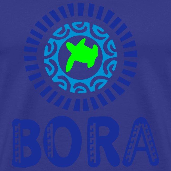 Blue lagoon of Bora