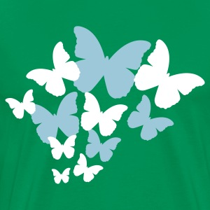 Butterfly Group (2c, NEU) - Men's Premium T-Shirt