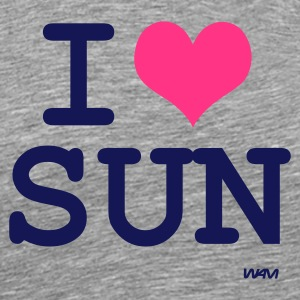 Cendre i love sun by wam T-shirts - T-shirt Premium Homme