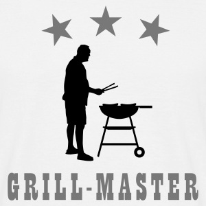 grill_master_c_2c T-shirts - Mannen T-shirt