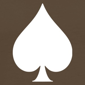 Brown poker Men's T-Shirts - Men's Premium T-Shirt