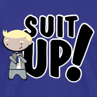 Diseño ~ Camiseta How I met your mother, Barney Stinson Suit Up - chico manga corta