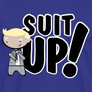 Diseño ~ Camiseta How I met your mother, Barney Stinson Suit Up - chico manga corta