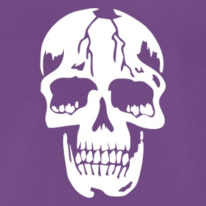 Indigo original death skull pirate T-skjorter - Premium T-skjorte for menn