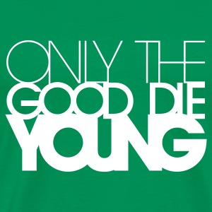 Grass green onlythegood Men's Tees - Men's Premium T-Shirt