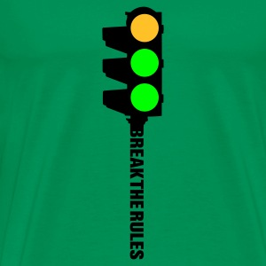 Khaki green ampel Men's Tees - Men's Premium T-Shirt
