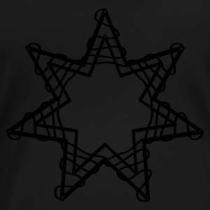 Svart The star T-shirts - Premium-T-shirt dam