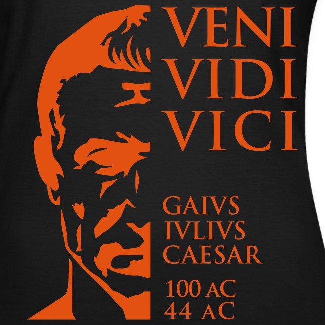 Camiseta Mujer Girlie clásica Cesar Veni Vidi Vici