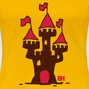 Castle - Women's Premium T-Shirt