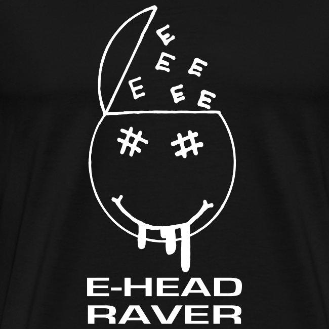 E Head Raver Smiley Face