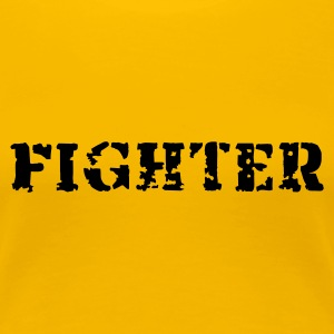 Fighter - Frauen Premium T-Shirt