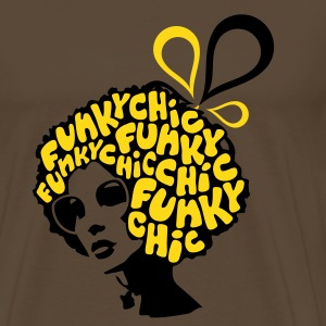 Funky chic Tee shirts - T-shirt Premium Homme