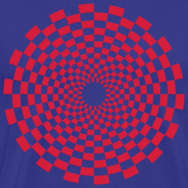 Psychedelic Circle red