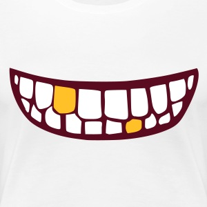 mund - mouth  - Frauen Premium T-Shirt