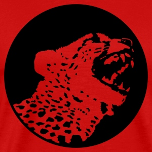 Burgundy red Leopard (1c) Men's Tees - Men's Premium T-Shirt