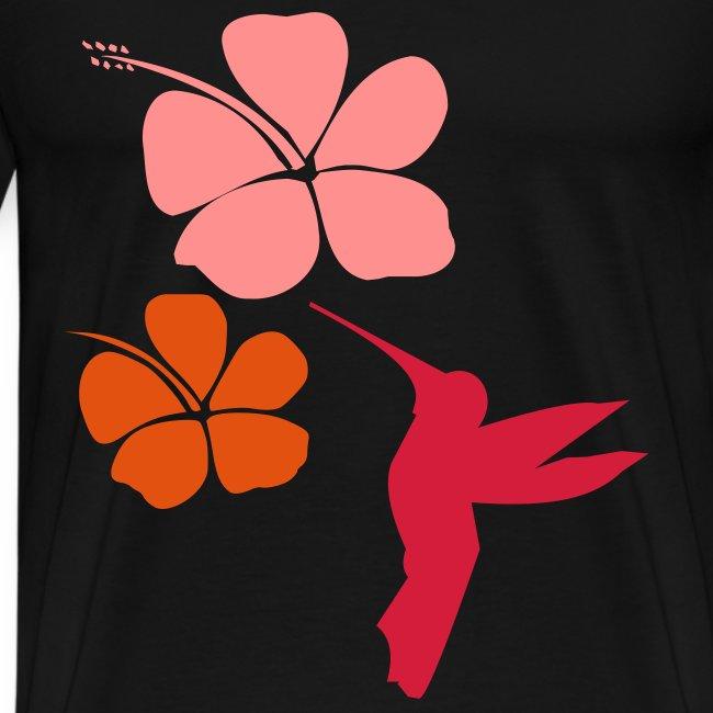 Colibri Hibiscus hindi t-shirts & souvenirs _ online store of india t-shirts