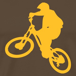 Freeride Brown/Yellow  - T-shirt Premium Homme