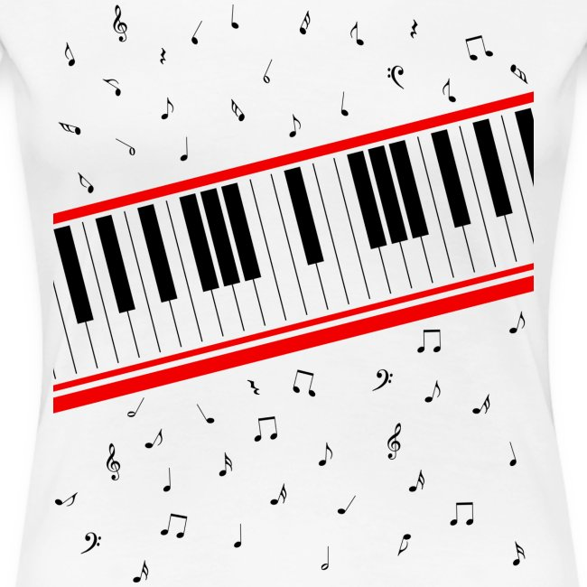 Beat It – Piano Shirt (Girls Basic)