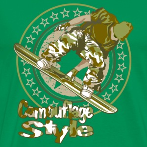 camouflage style - T-shirt Premium Homme