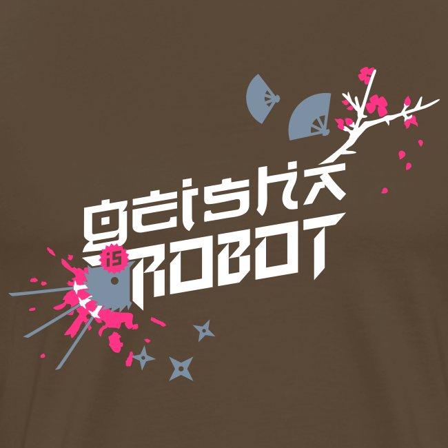 Geisha is Robot