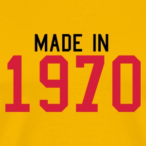 Yellow 1970 Men's Tees - Men's Premium T-Shirt