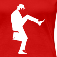 Design ~ John Cleese Red Silly Walk Women's Shirt
