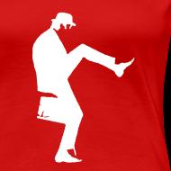 Design ~ John Cleese Red Silly Walk Women's Shirt