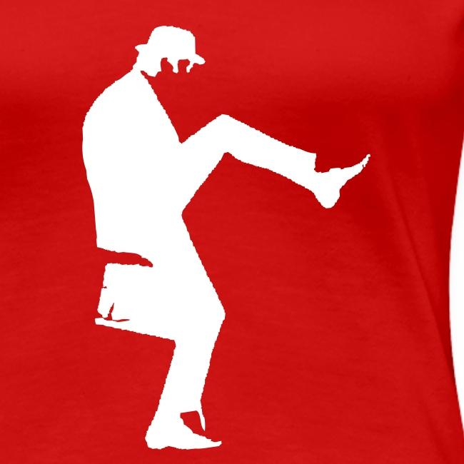 John Cleese Red Silly Walk Women's Shirt