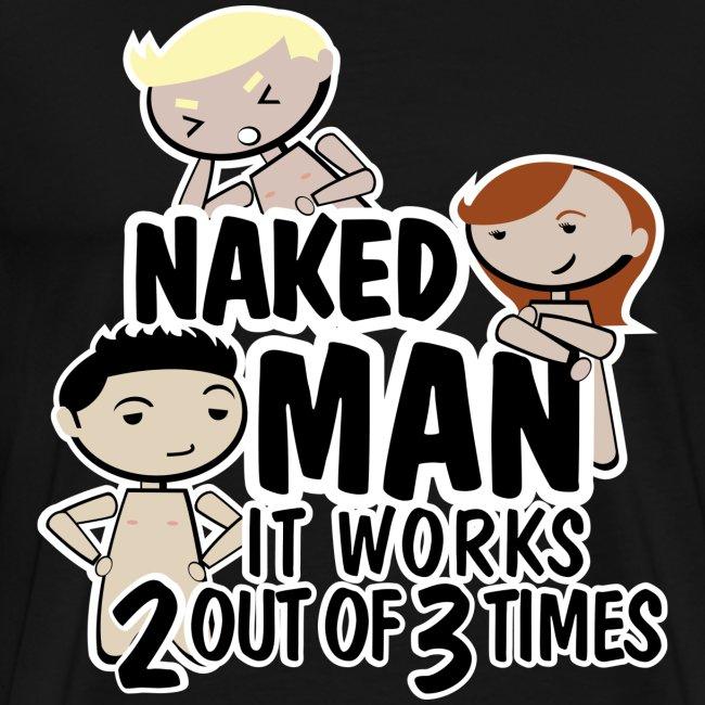 Camiseta how i met your mother,  barney stinson naked man - chico manga corta