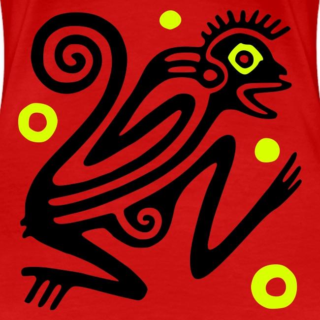"""Frauen Girlieshirt klassisch """"Ancient Mexico Glyph"""""""
