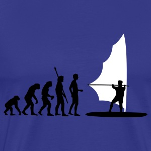 evolution_windsurfer T-Shirts - Men's Premium T-Shirt
