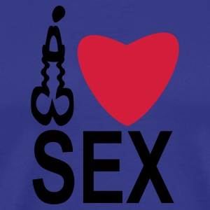 shirt my penis love sex - Männer Premium T-Shirt