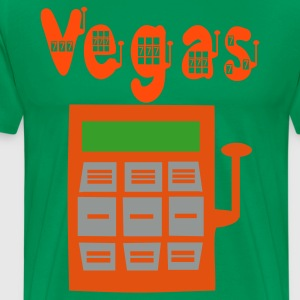 Las Vegas slot machine 3colors T-shirts - T-shirt Premium Homme