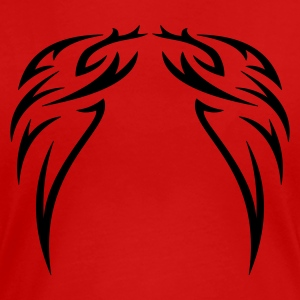 tattoo wings  - Dame premium T-shirt