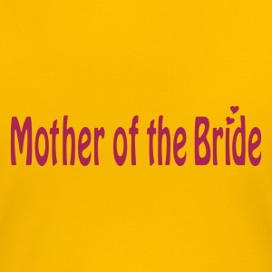 Light pink Mother of the Bride T-shirts - Dame premium T-shirt