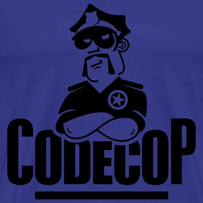 Code Cop, 'Dark Blue Default'