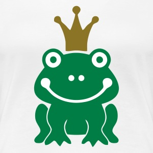The Frog King - Women's Premium T-Shirt