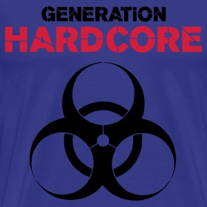 Sky Generation Hardcore Men's Tees - Men's Premium T-Shirt