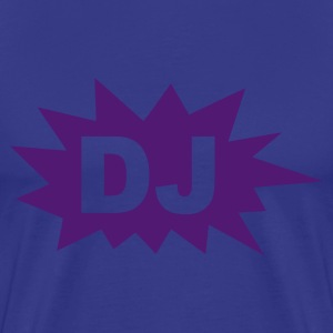 Royal blue DJ Men's T-Shirts - Men's Premium T-Shirt