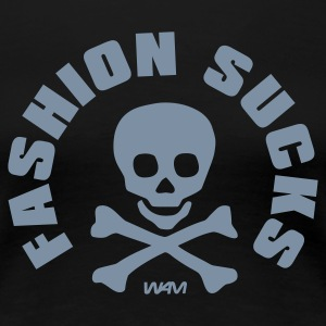 Nero fashion sucks  by wam T-shirt - Maglietta Premium da donna