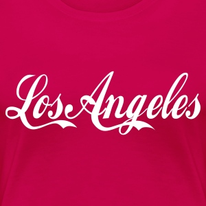 Rose los angeles T-shirts - T-shirt Premium Femme