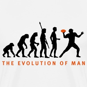 Weiß evolution_football_b_2c T-Shirts - Männer Premium T-Shirt