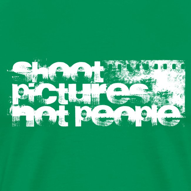 shoot pictures, not people