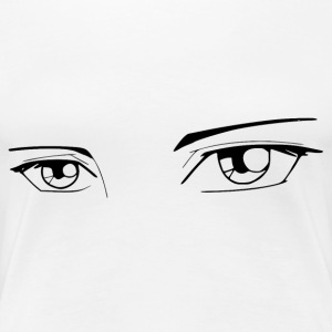 Manga Eyes - Frauen Premium T-Shirt