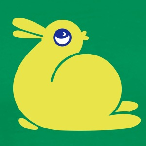 Vert tendre canard ou lapin / bunny or duck (3c) T-shirts - T-shirt Premium Homme