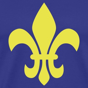 Fleur de Lis, France, King, Queen, Royals, gifts, Geschenke, Monarchie, Symbole, symbols, England, United Kingdom, Royaume de France, www.eushirt.com - Männer Premium T-Shirt