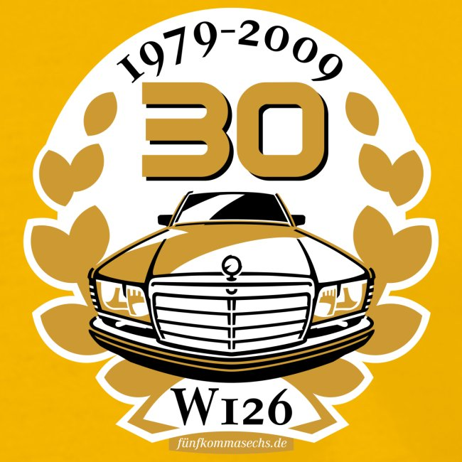 Jubiläums-Shirt 30 Jahre W126