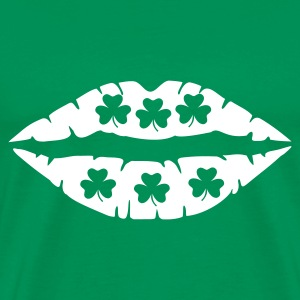 St. Patricks - Shamrock - Men's Premium T-Shirt