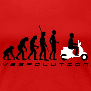 evolution__b_2c T-shirts - Vrouwen Premium T-shirt
